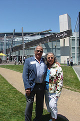 Rod and Vanda at the Googleplex