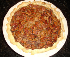 Pecan Bourbon Pie From Chef Brent