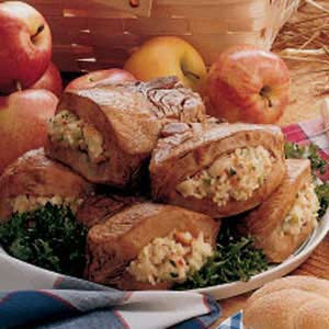 Apple Herb Stuffed Pork Chops from SupportHoseStore.com