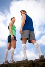 Keep you mind and body healthy by walking with support socks from SupportHoseStore.com