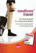 Wear Medi Travel Socks to Prevent DVT