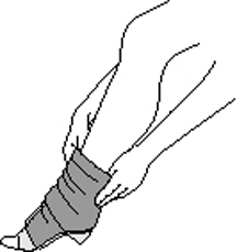 Donning a Sock
