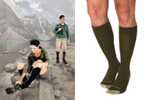 Sigvaris Merino Outdoor Sock