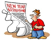 Year Resolution list
